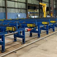 selected thumbnail button of rebar storage table installed by Omega Morgam millwright and industrial crews