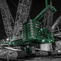 deselected thumbnail of counterweights on sarens crane