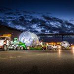 Omega Morgan crew preparing to haul adsorbers.