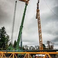 Tower Crane Services Case Study - ECHO 550 Morrow Crane