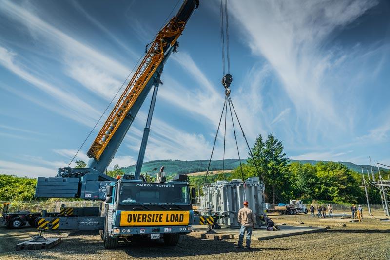 Crane Services in Calgary
