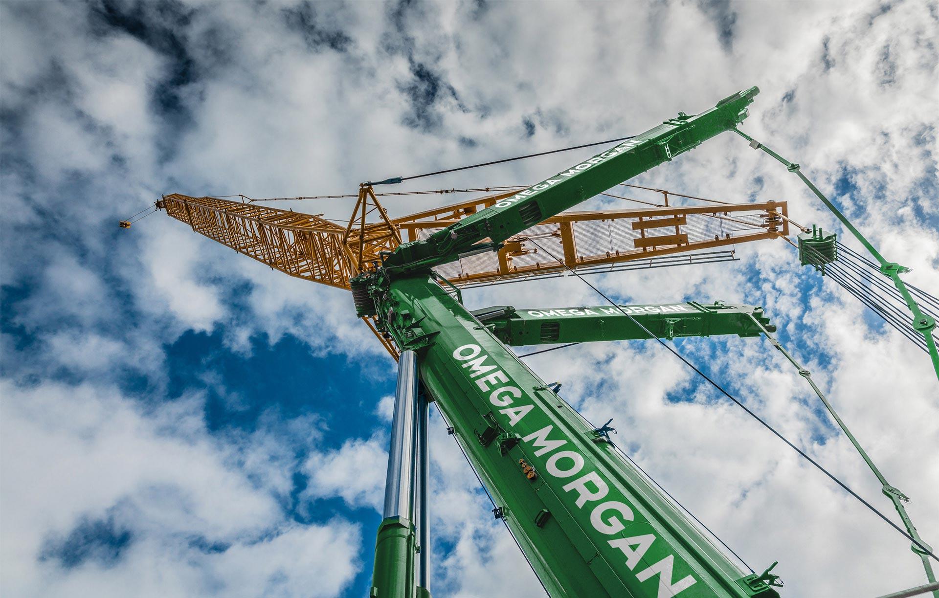 omega morgan crane and sky
