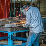 omega morgan millwright working on custom fabrication