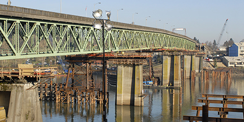 Northwest-based Omega Morgan executed the longest and one of the most complex bridge moves ever with the Sellwood Bridge in Portland, Ore.