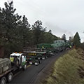 selected thumbnail of Omega Morgan heavy haul pulling grade video