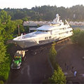 selected thumbnail of omega morgan yacht video