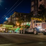 Transporting 418,000lb transformer through the streets of Seattle